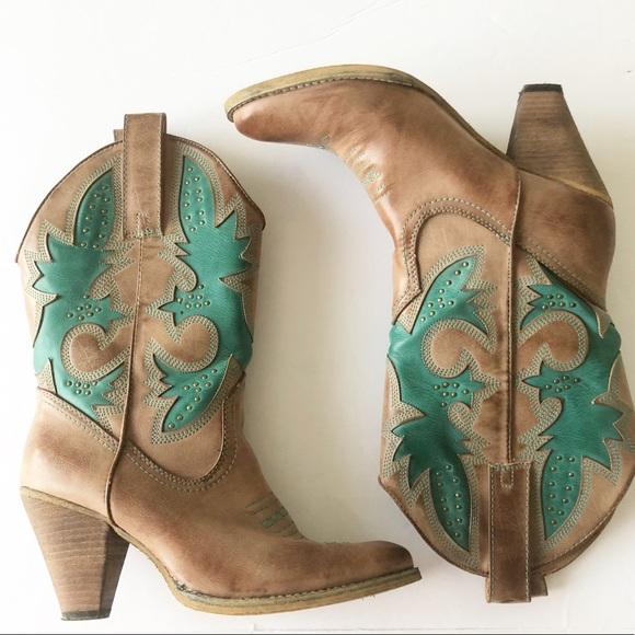 aa5a4258c4f Very Volatile Rio Grande Vegan Cowboy Boot Sz 9